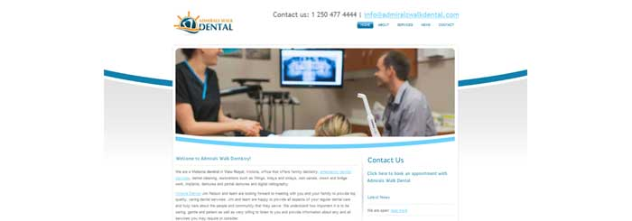 websites-for-dentists-admirals-walk-700x245px